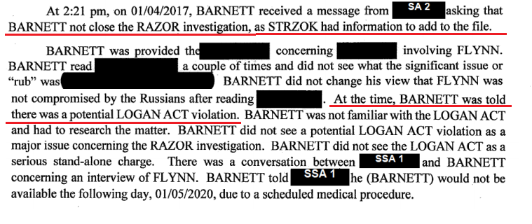FBI Agent in Charge of General Flynn Investigation Thought It Was a Joke and Was to
