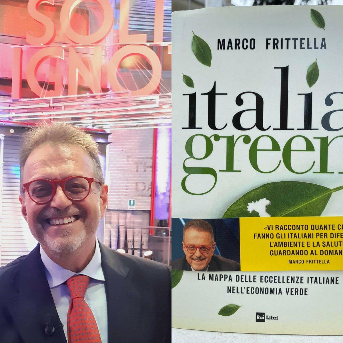 RT @mfrittella: Abbiamo portato ITALIA GREEN anche...
