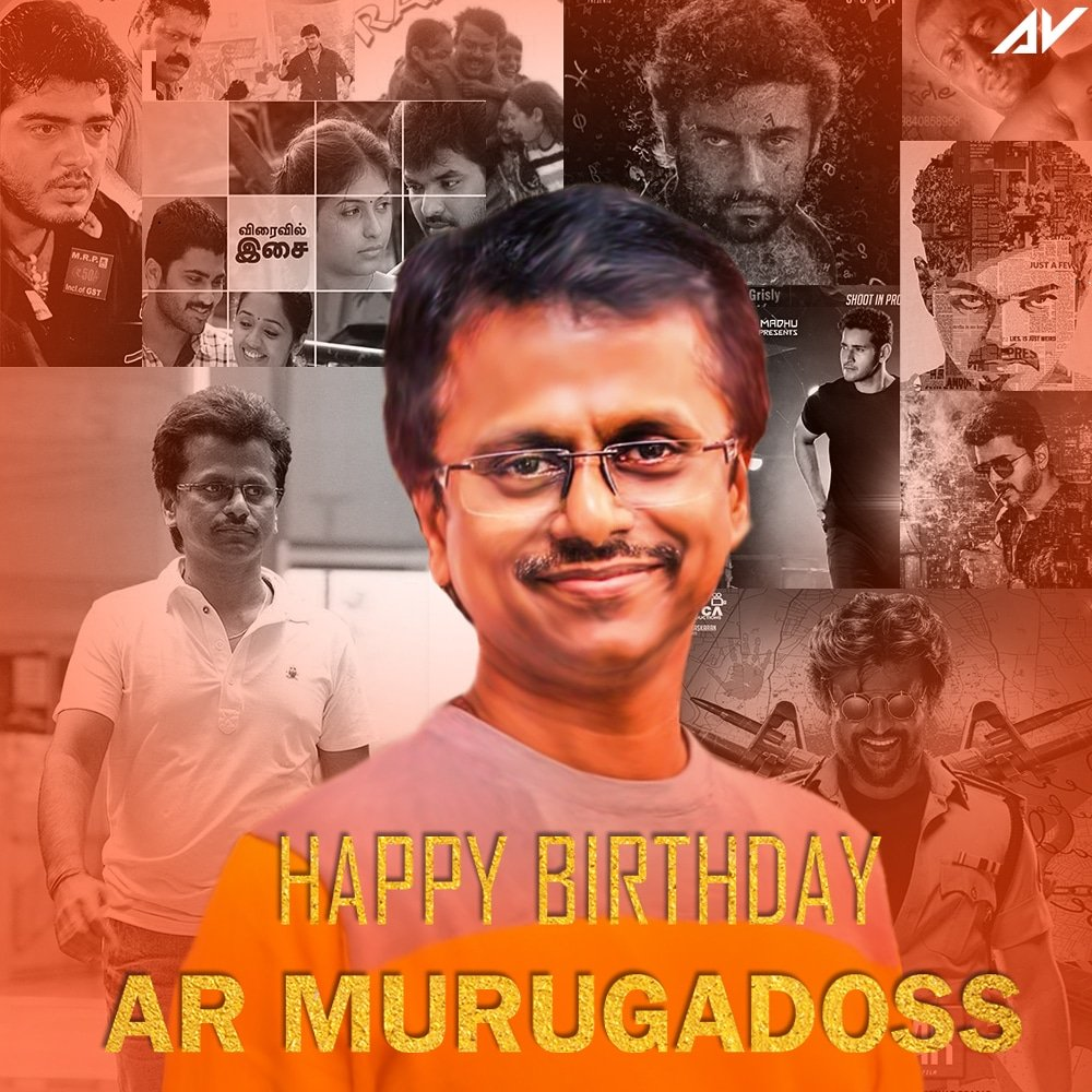 Known director for concentrating mainly on social issues.  #HBDARMurugadoss  HAPPY BIRTHDAY @a.r.murugadoss  #murugadoss #director #tamilcinema #poster #birthday #hbd #socialissues #abijithrj https://t.co/SiULPqRcOu