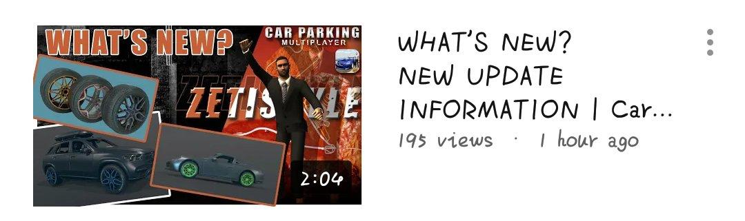Car Parking Multiplayer 📌 | zeti • game info • #CarParkingMultiplayer #CPM #Gaming #Gameplay #Game #Openhood #Livery #Widebody #LibertyWalk #Tutorial #RustyDecals #YouTuber #YoutubeGaming #zeti #GameInformation https://t.co/YOdIK4OQxA