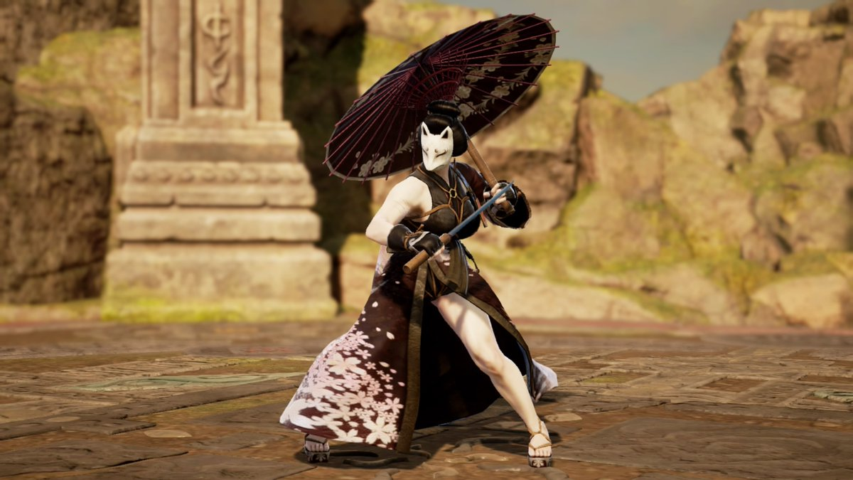 """Name:Haishi Family:Tatiana (adopted) """"Justice..is non good nor evil always remember that tatiana. To one side you will always be the bad one like being the good one to the other.."""" #SOULCALIBURVI #Soulcaliburcreations #sc6 #Myoc #Myocquotes #mystory #mylore https://t.co/ptbtOll4Rf"""