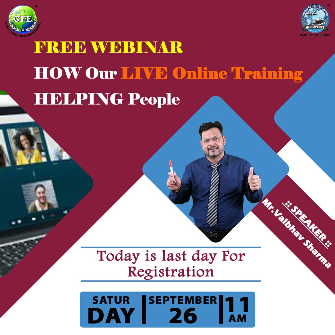 Hurry ! FEW Seats LEFT !!  CLICK here.. https://t.co/FiKTm4Gnaw  & RECEIVE Free E-TICKET in your MAIL after REGISTRATION PROCESS !  #Hurry #today is the #lastday for #Free #Registration Start #onlinetraining #Program #Free #webinar #online #seminar https://t.co/abvc44KxPq