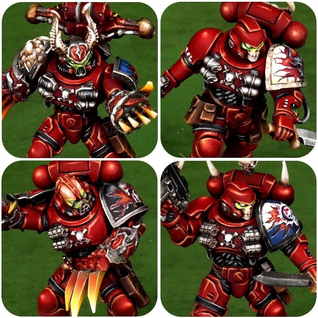 Word Bearers #paintingwarhammer #warhammer #wargaming #warmongers #gamesworkshop #miniatures #warhammer40k #minipainting #ultramarines  #wargames #best4minis #coolminis #WarhammerCommunity #wh40k #wordbearers https://t.co/iiNxdlbVmj
