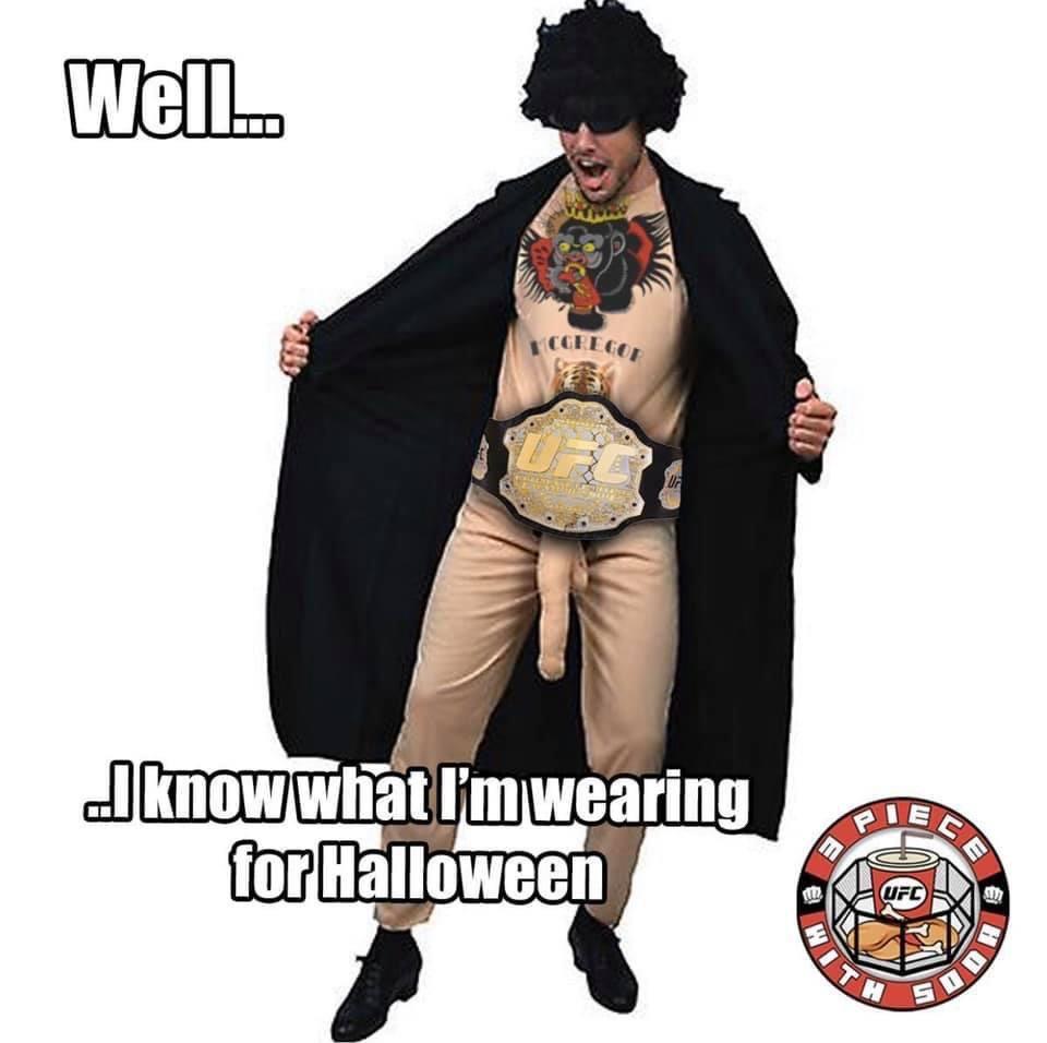 Best Halloween Costume of 2020?  #MMAMemefam #MMAMeme #MMA #UFC #UFC253 #Bellator #Judo #BJJ #MuayThai #Boxing #Wrestling #Kickboxing #MMATwitter #TeamMMA4Life #OSS https://t.co/CcsBtUgdKy