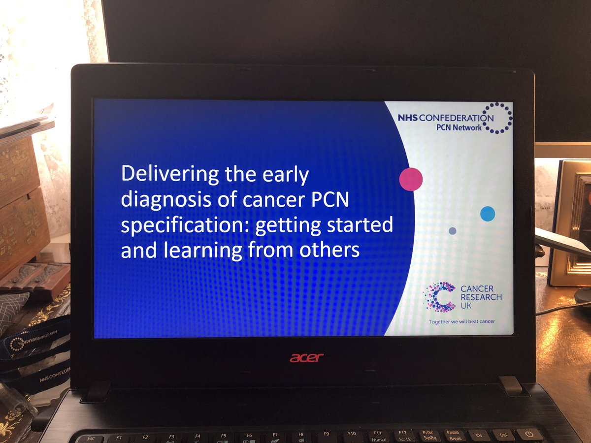 Thank you colleagues from @CR_UK supporting our webinar on delivering the Cancer spec of #PCN DES Participants were polled before and after the presentations and confidence in ability to deliver moved from 25% to 75% @NHSConfed @rankine @DalbyWelsh @fhussain73 @markspen9999 https://t.co/tLenzgNHBF