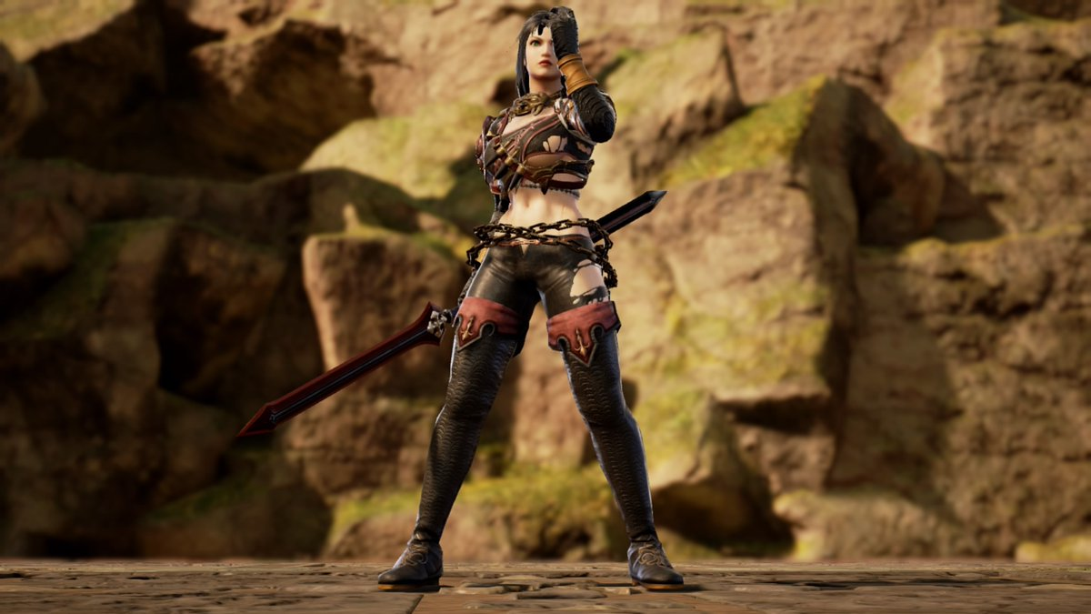 """Name: Catrin Allies:Adilyn,Domitille,Mavis,Misa and Elle. """"I don't remember who i am nor my real objective..but..my friends are what matters to me so messing with them will apply your death"""" #SOULCALIBURVI #Soulcaliburcreations #Sc6 #Myoc  #Myocquotes #MyCharacter #MyStory https://t.co/v2H8kuYxLC"""
