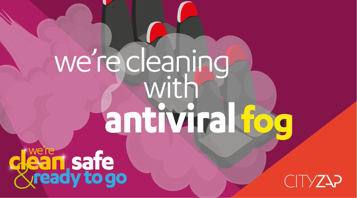 ✨ We're Clean, Safe and Ready to Go!  Did you know all our buses get treated with antiviral fog, every night? That's as well as a thorough deep clean, and several spot cleans through the day too.   🖥 Learn more here - https://t.co/lsjG4jCBnB #CSRtG https://t.co/EjOLqMcuOc