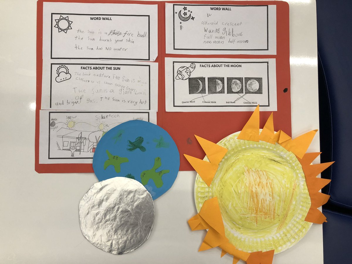 Stage 1 is so creative! This week they created models of what they have learnt this term about the changes that happen in the night sky #moon #moonphases @LidcombePS https://t.co/M4oVsfWSX1
