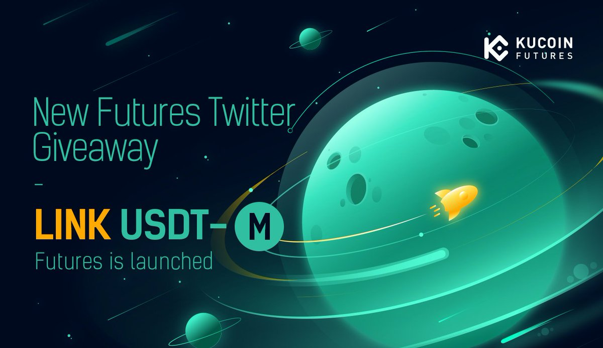 #KuCoinFutures has launched Chainlink $LINK Perpetual Futures!  1. Follow @kucoinfutures 2. Retweet with #LINK #DeFi  💵 5 winners, $30 for each one.  💰Join trading mining to win $1,500 rewards. Minimum 0% trading fees! https://t.co/zB8hs3hSHo  Details: https://t.co/CYpLQolJmT https://t.co/ev9fG2FFiN