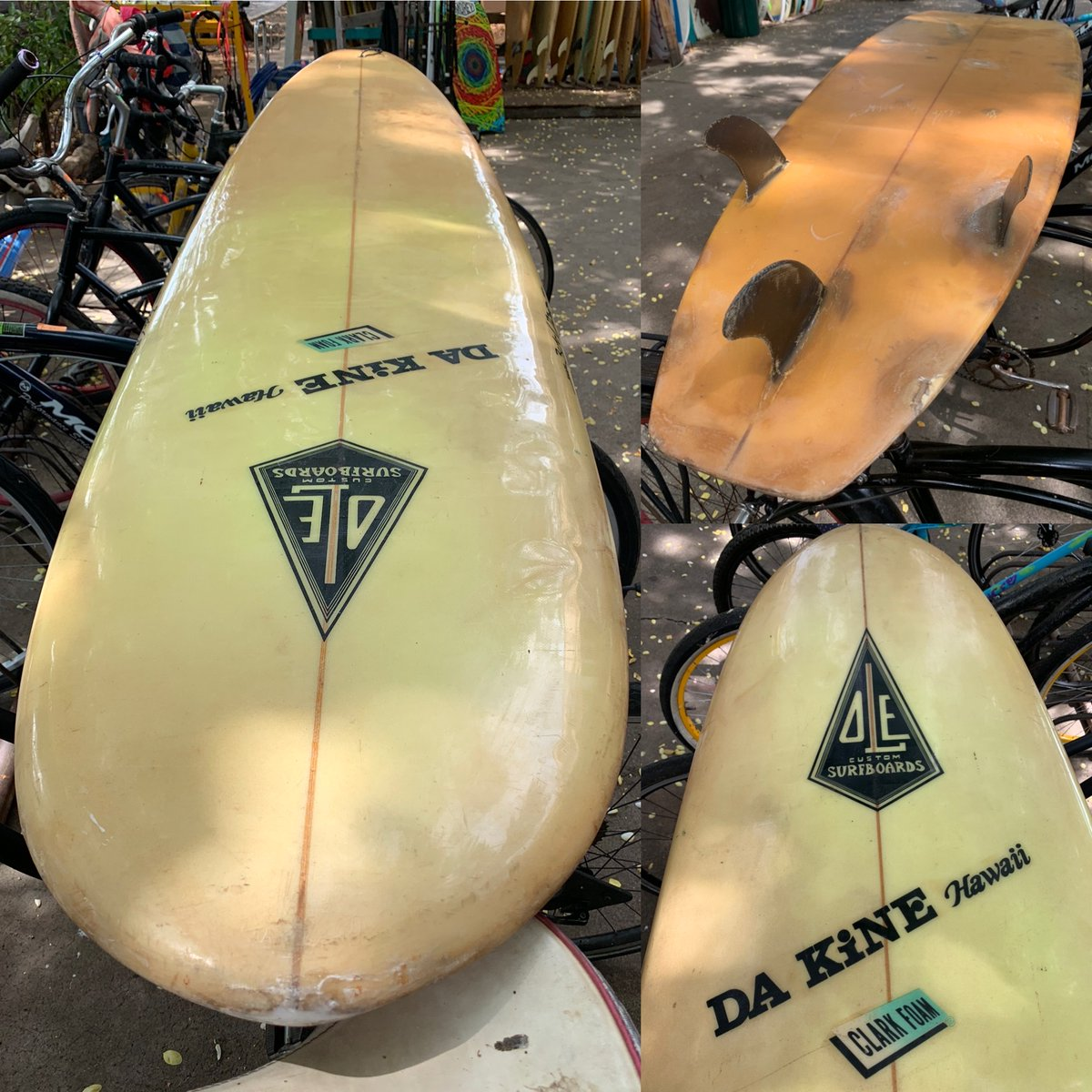 Ole Longboard 8 ft. Classic board, fair condition $650 OBO #808-667-7689 https://t.co/aTlInRdsMW #surfboardforsale #classicsurfboard #surfing #surfer #maui #surf #longboards #olesurfboards #longboarding #hawaiisurfboards #hawaiisurfboardshapers #classicsurfboards #surfergirl https://t.co/s8Wy0eUaqZ