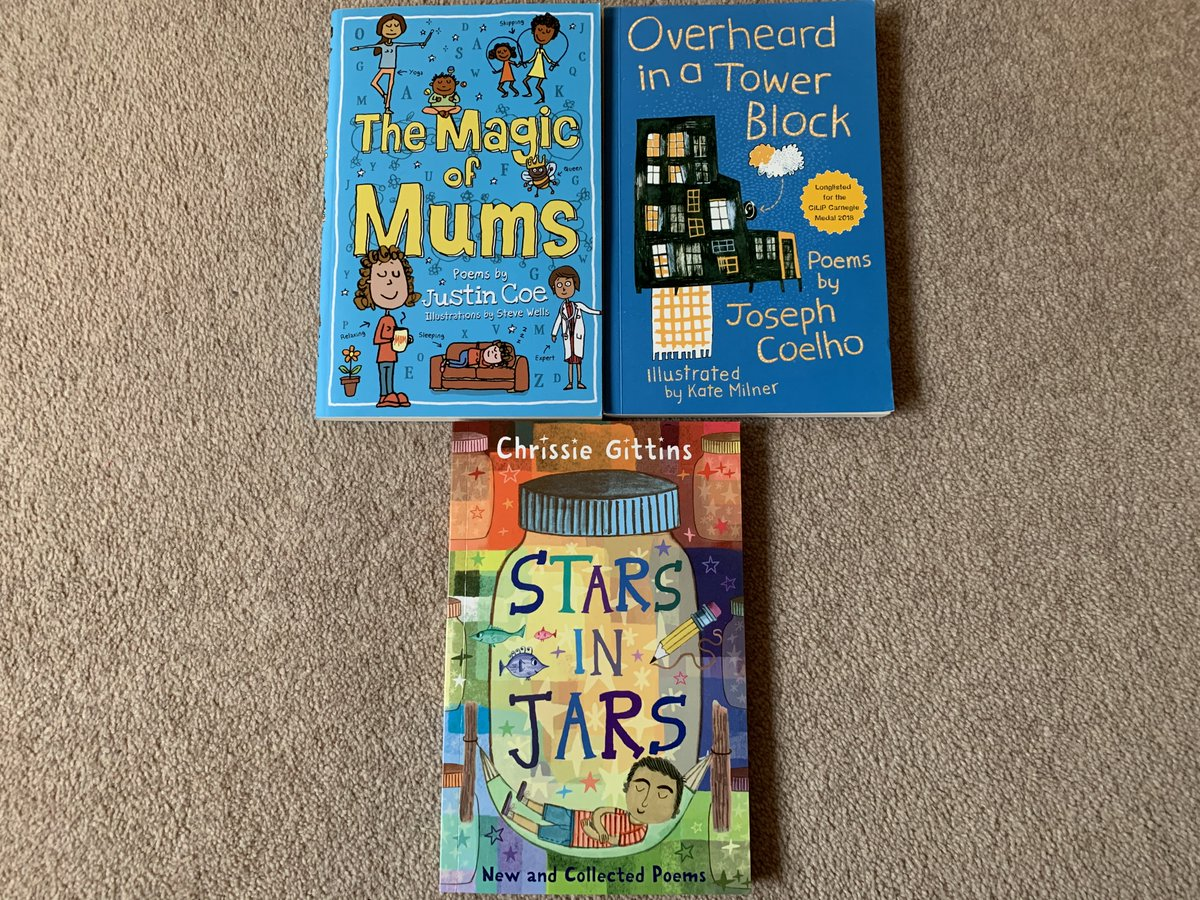 Some great poetry books I've bought recently. I can really recommend them. Why not have a read? @literacyoutloud @JosephACoelho @ChrissieGittins  #poemsforkids #childrenspoetry #ChildrensBook #teachers #parents #schools https://t.co/YzBBUNJGj8