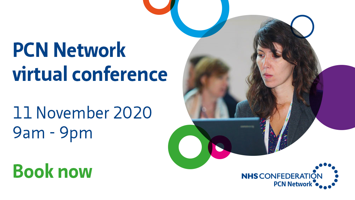 Our virtual conference will unite PCNs from across the country to:  ➡️connect with peers ➡️take part in workshops addressing the issues you have been raising supporting you to deliver innovation ➡️hear from keynote speakers.  Sign up https://t.co/ZaV1JftBo3 https://t.co/pwo2VFdmlk