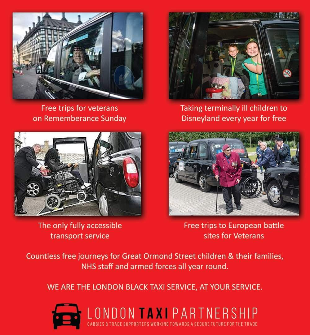 #londonsfinest #bestintheworld  Please retweet and show the everyone why London Taxis are the best in the world! In a time where there is so much negativity around, let's spread some positivity!!! https://t.co/X8UK0eUu8j