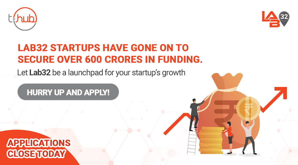 #Lab32 startups over the past three batches have addressed their growth challenges, scaled up with greater surety and improved their investability. Choose Lab32 as your #startup's launchpad. APPLY NOW, https://t.co/89Mg7vUQrY.  #LetsTalkGrowth #Lab32Batch4  #InnovationEcosystem https://t.co/OuKbEFLipd