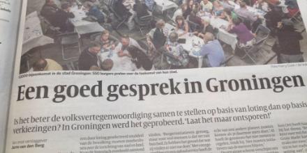 Vandaag organiseert @provgroningen de werkdag 'Lokale democratie en participatie'. Programmamanager @Liesbeth050 vertelt hoe zij als één overheid samen meters willen maken en bouwen aan vertrouwen in Groningen. https://t.co/s60la8knTZ #participatie #democratieinactie https://t.co/vNQ8AWNg1R
