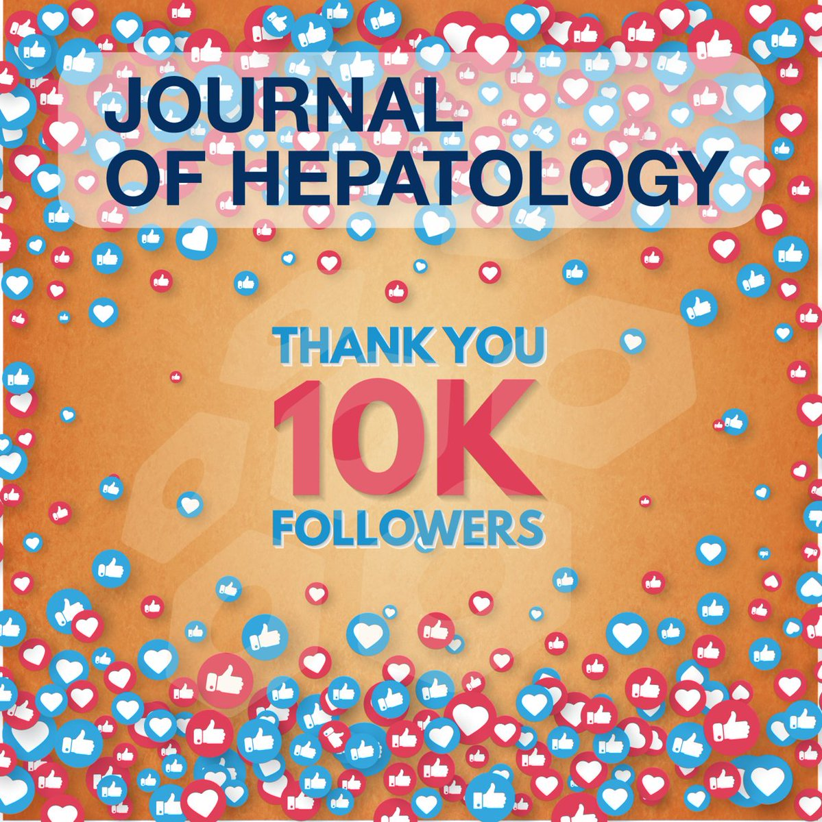 The Journal of Hepatology reached 10,000 followers on twitter. 🙌 A big thanks to all our followers! Stay tuned, you will continue to find the latest developments and news in #hepatology right here. #livertwitter #liverdisease https://t.co/qTIKkmq3jE