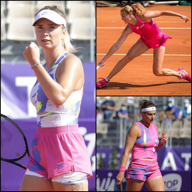.@ElinaSvitolina will play SFs in @WTA_Strasbourg today!! She will play against Siniakova or Sabalenka (6-2 1-2 to be completed), on Patrice Dominguez Court not before 3.30 pm CET! One more step to the final Eli, you can do it! #FamEli 💪👊🇺🇦 https://t.co/m0ml7WYszu