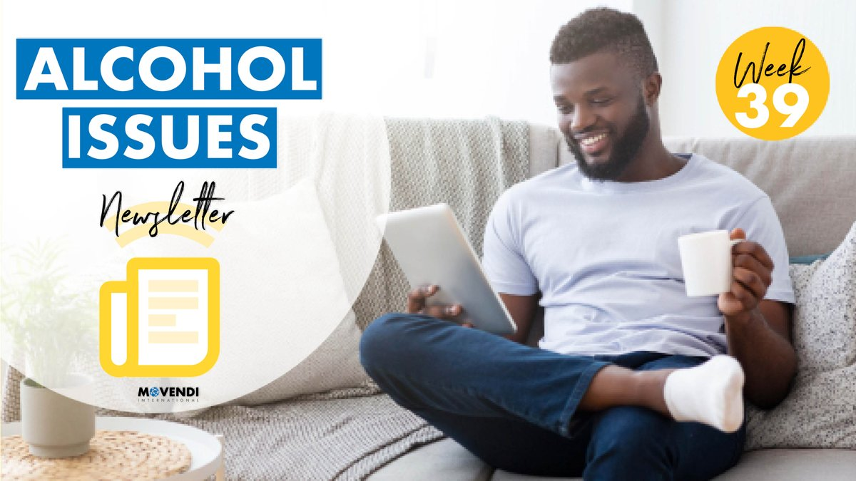 Out now💥 Our #AlcoholIssues Newsletter – Week 39 👉🏿https://t.co/LajY4lFtXK Carefully curated alcohol policy news, latest science digest, Big Alcohol revelations, and a Special Feature to keep you in the know about the most important alcohol issues of week 39‼️ #AlcoholHarms https://t.co/gRMjbt56Sj