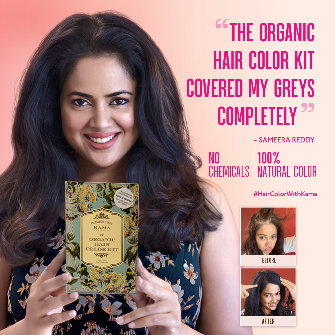 """I am so happy with the color & texture of my hair. Just 💯% #Natural hair color.""🥰  #KamaAyurveda #Organic #HairColorKit https://t.co/uroPcXvyk9 Reviewed by @reddysameera 😍  #HairColorWithKama #ColorWithCare #OrganicHairColor #Review #Henna #NoChemicals #Natural #HairCare https://t.co/Hfqn7E30G9"