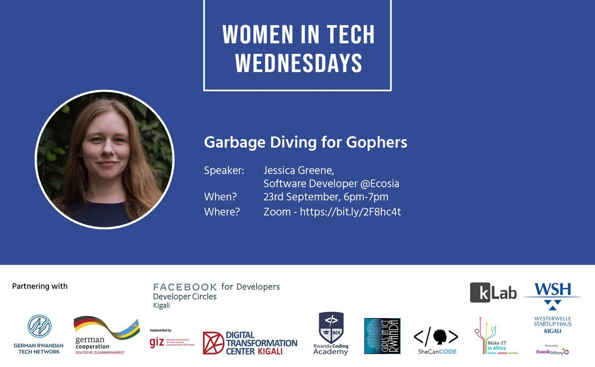 Was such a pleasure to be able to share my learnings around the garbage collector in @golang and learn about the Rwanda Code Academy. Thank you for inviting me to join ❤️  #community #learntocode #garbagecollection #golang #womenintech