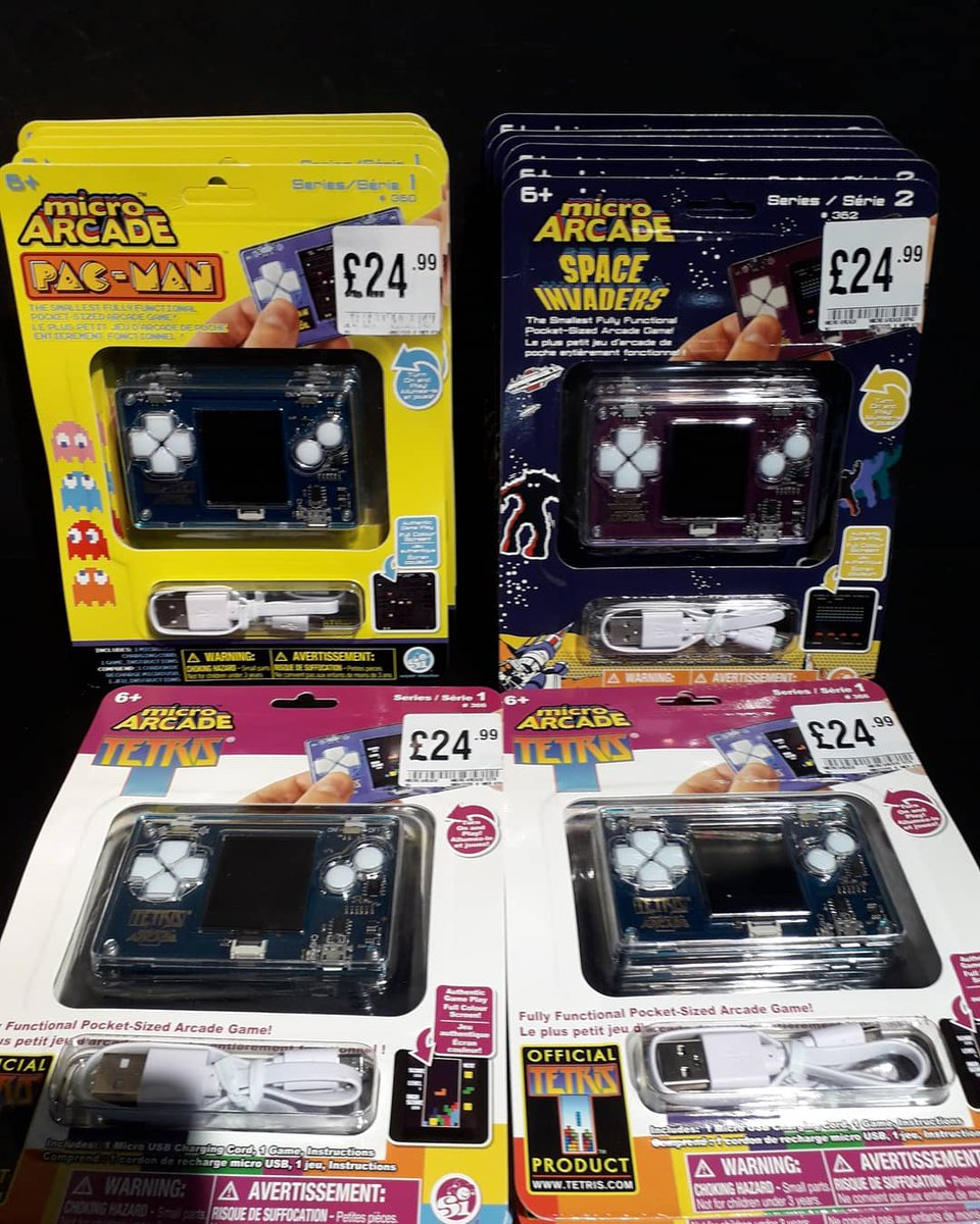 Oh w😯w look what has arrived in #microarcade  #pacman #tetris #spaceinvaders. Perfect for  staycations or journeys to work if you cant work from home or even of you need me time from working from home. Come and grab one today open 9.30 -  5.30 @CulverSquare #Colchester https://t.co/ALZ5ngfTee