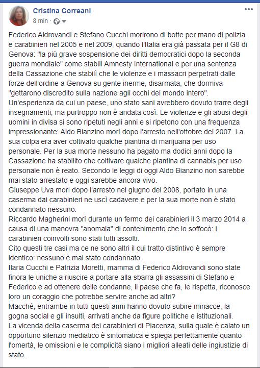 #FedericoAldrovandi