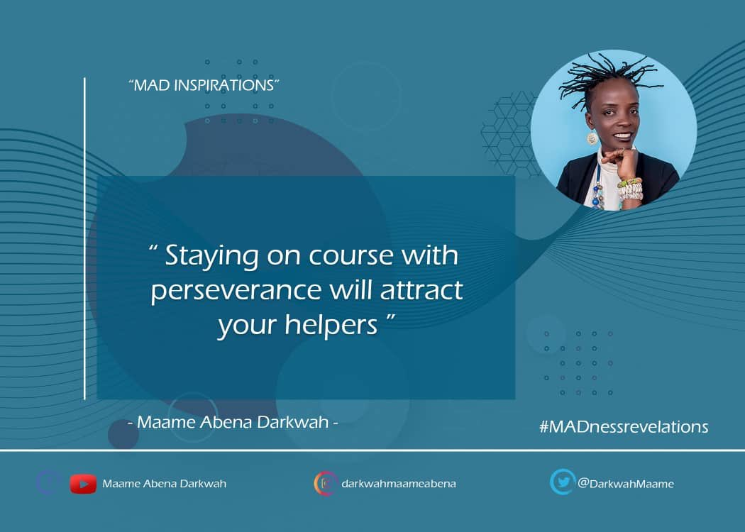 Quote from #MADnessrevelations! #maameabenadarkwah #tobeawoman #madrevelations #myjourney #mystory #akingsqueen #madqueen  #proudlyGhanaian https://t.co/NvGoDVV2R6