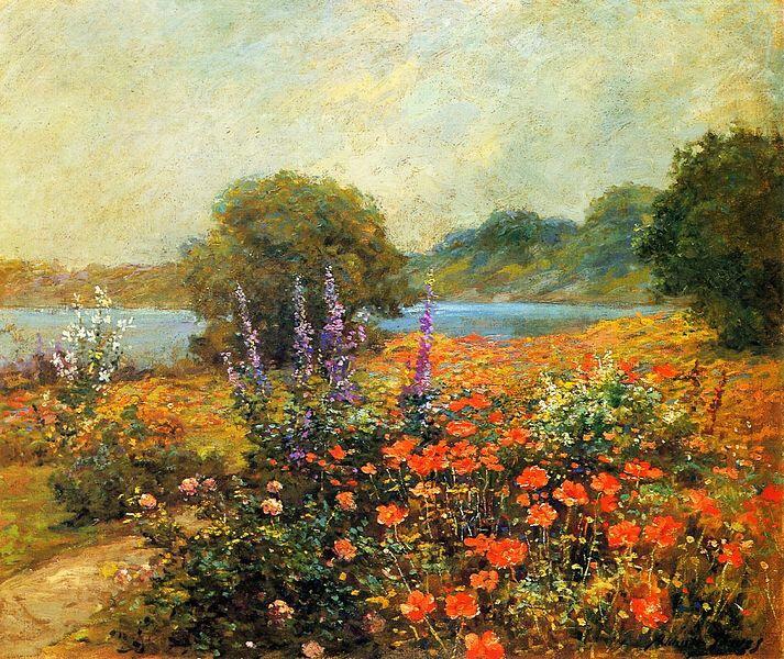 アボット・フラー・グレイブス 《ポピー》1905年 #花のある風景 #絵画 https://t.co/gNma2of46A