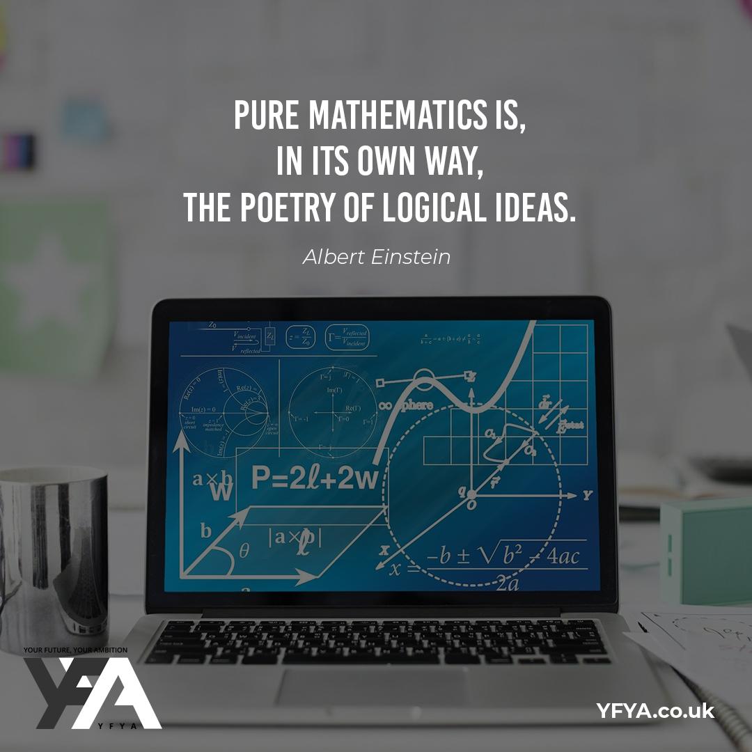 Pearls of wisdom from  Einstein 💭  #YFYAUK #CreatingASustainableTomorrow #STEAM #STEM #Encourage #Inspire #Careers https://t.co/c1PtGnh3SU