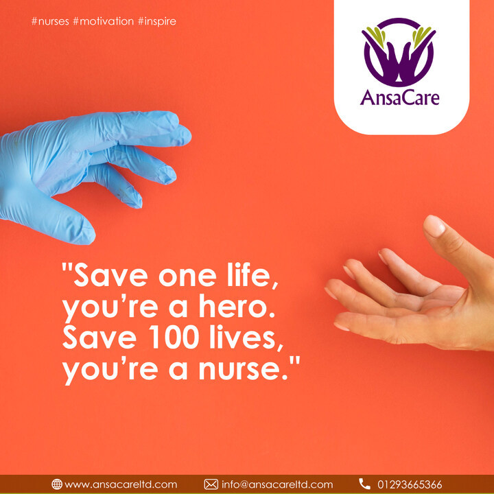 #nurses #motivation #inspire  https://t.co/lJledtR2Ge | info@ansacareltd.com|Phone : 01293665366 #nursing #caregivers https://t.co/xiN4cvITHC