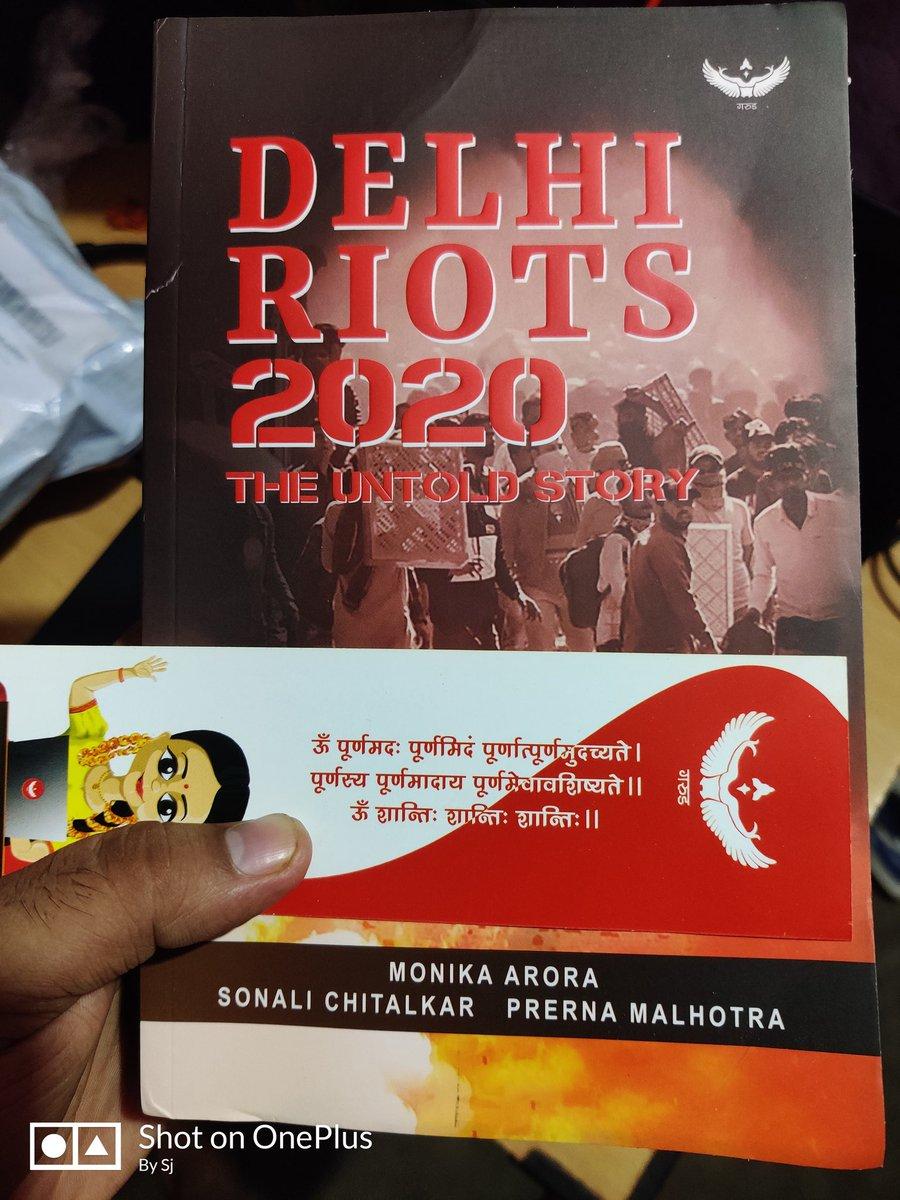 @AskAnshul Bhai do read this book! Got it today!  #DelhiRiots2020 #DelhiRiots #CAB #CAA #CAA_NRC https://t.co/c3DnyDPuTK