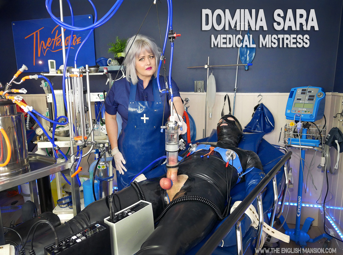 We got to peek in on an intense scene with the gorgeous, super talented @DominaSara inside her incredible medical facility @FetishMedical & you'll be able to watch all the action very soon inside The Mansion... https://t.co/PsUuuIl2JF