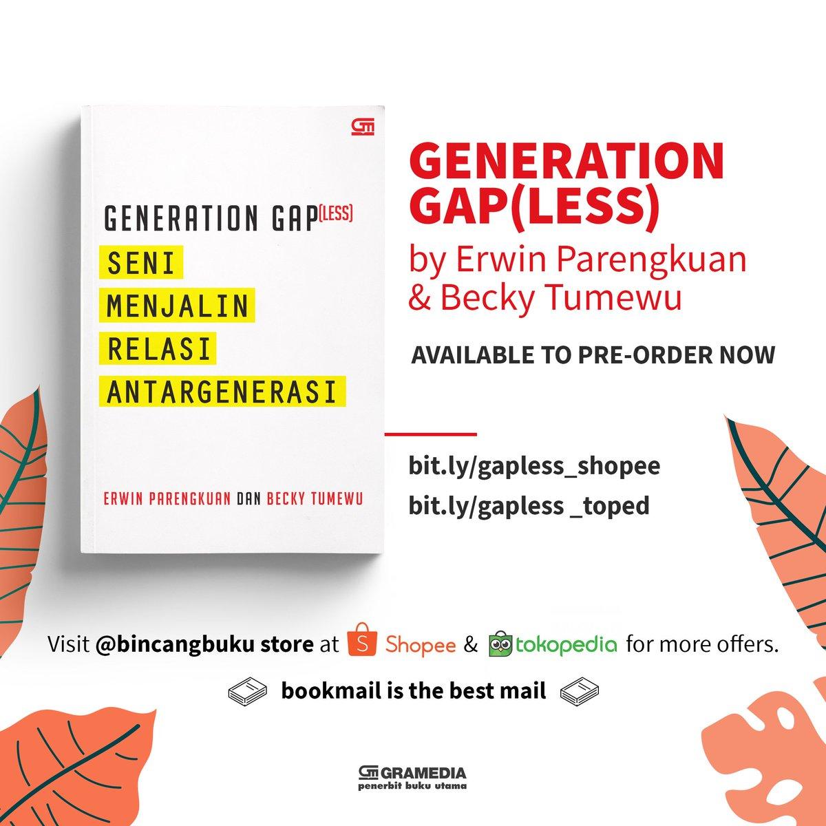 Pasti butuh kiat-kiat untuk berkomunikasi & berelasi dengan orang lain yang berbeda generasi. Silakan manfaatkan buku ini! Pesan di https://t.co/U84K5Fn8xb atau https://t.co/8j9GYmrvqj #bukugpu 😊 https://t.co/sEVIcZZL1F