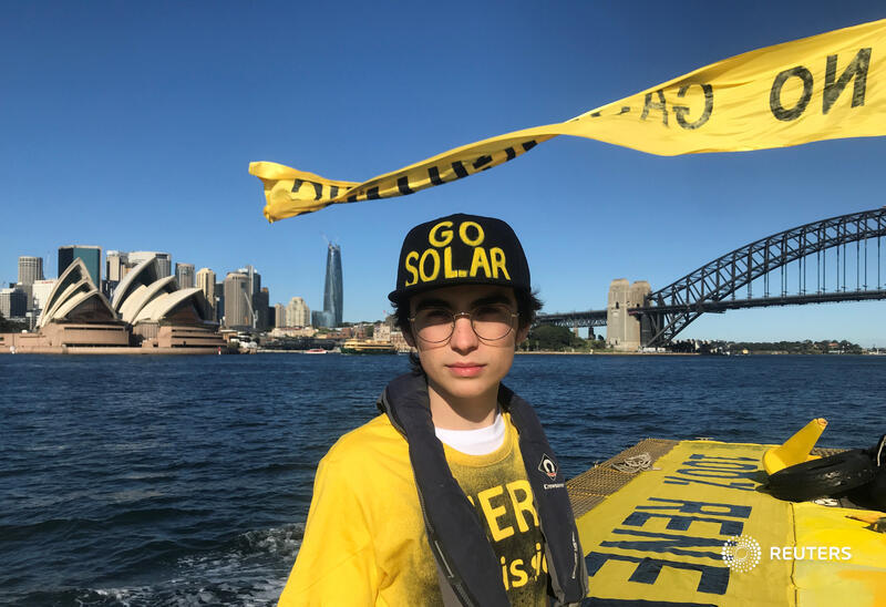 Australian school student Ambrose Hayes, 15, should be at home studying but instead he is in court trying to protect his future from climate change https://t.co/4xYKro0Dmy by @jillgralow https://t.co/I5izFHA46a