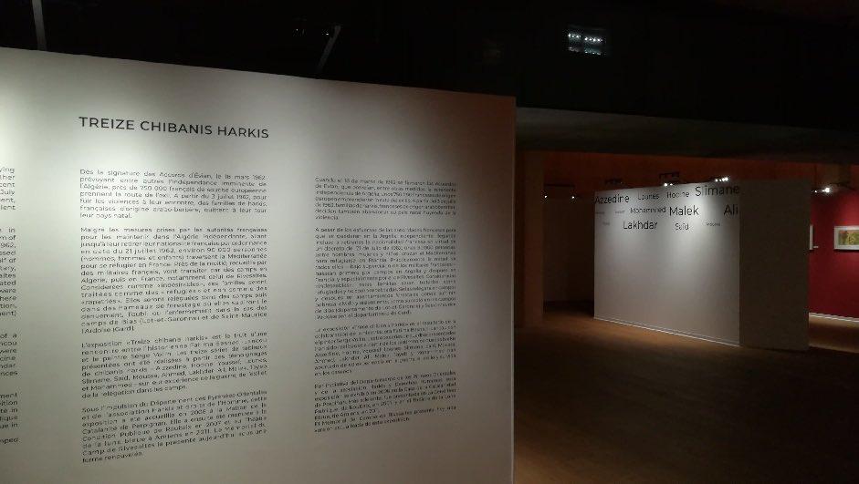#journeehommageharkis «Treize chibanis harkis» c'est la nouvelle exposition temporaire du mémorial du camp de #Rivesaltes @MRivesaltes jusqu'au 31 janvier 2021. Le travail du peintre #SergeVollin sur la base d'interviews réalisées par #FatimaBesnaciLancou https://t.co/iSngZ1Keki