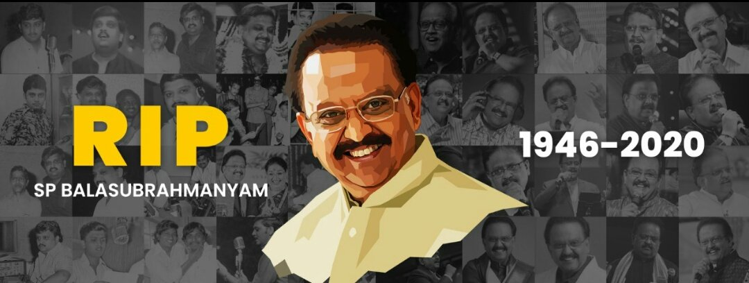 Great loss to the Music Industry. Rest In Peace #SPBalasubrahmanyam #RIPSPB