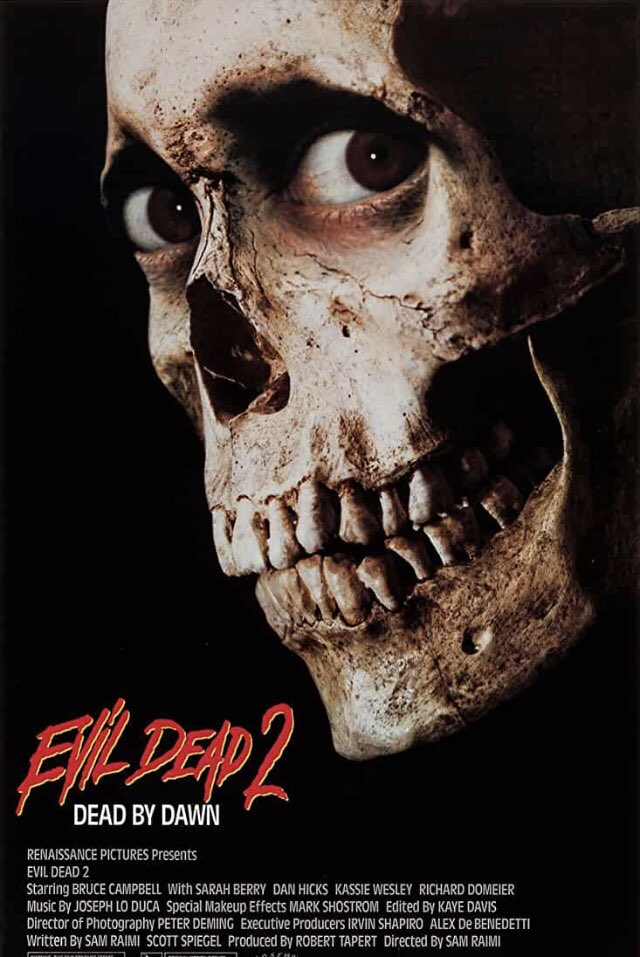 The Evil is back to swallow our souls! Check out my review for Evil Dead 2: Dead by Dawn : Review https://t.co/efxpNjzRas via @YouTube #evildead2 #deadbydawn #brucecampbell #samraimi https://t.co/hFHPIO3ZO3
