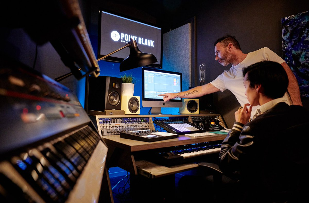 Learn the ins and outs of #DJing, #MusicProduction, #Singing, #Songwriting and more in #LosAngeles with @Point_Blank. Our practical courses are still 25% off until Monday, 28th September: https://t.co/oFyTh6bl62 https://t.co/ncvbjY0ZIG