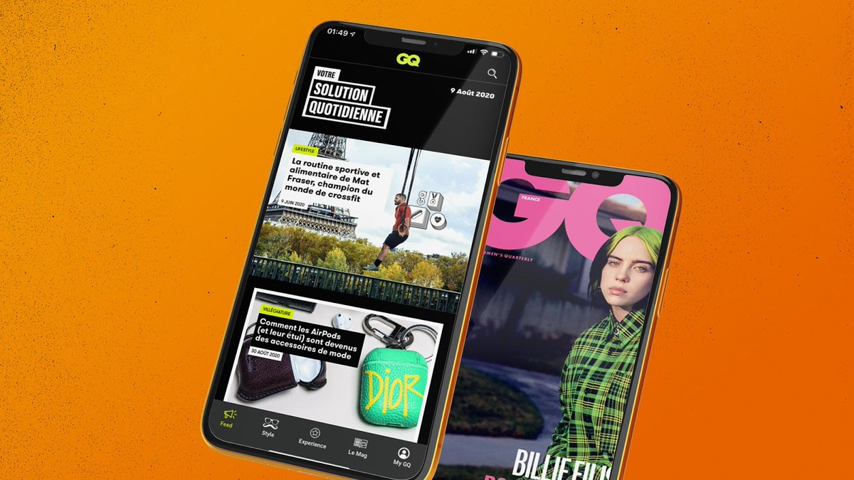 .@GQ_France has launched a brand new app experience for its subscribers. Find out all the details here: https://t.co/lv5pUROxS0. https://t.co/gibDFLQuHD