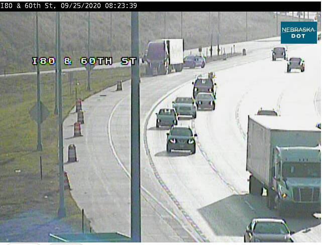 Image posted in Tweet made by Omaha Hwy Conditions on September 25, 2020, 1:30 pm UTC