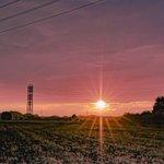 Image for the Tweet beginning: 新しいレンズと夕暮れの鉄塔♪  ソロコンサートの動画撮影用に画角の広いレンズを購入♪お試しも兼ねて夕暮れを撮影。画角広いですねー。  #送電鉄塔 #鉄塔のある風景 #日常の風景にある電力 #鉄塔 #電線 #夕暮れ #steeltower_artistic  #sunset  #nightview  #SIGMAfp #SIGMA16mm #ビックカメラcom