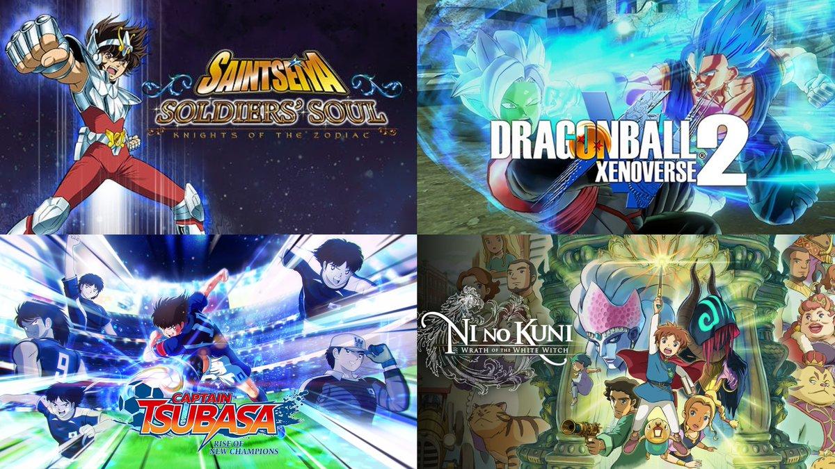 Mi lista personal de los cuatro mejores videojuegos de Anime hechos por Bandai. Los Caballeros del Zodiaco Alma de Soldado que hasta viene en audio latino. Dragon Ball Xenoverse 2. Ni No Kuni una obra maestra del estudio Ghibli y Captain Tsubasa (2020) #PC #Steam #gamer #anime https://t.co/hA4BRGsAlJ