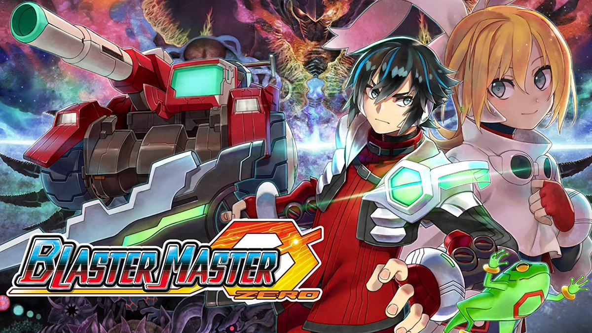 Starting in a few minutes.    BLASTER MASTER ZERO on the Switch  https://t.co/6R8eijRlc1  A new version of Blaster Master still keeping the retro vibe, while breaking totally new ground.   #twitch #blastermaster #blastermasterzero #livestream #switch #retrogaming https://t.co/idbD5Hs1bi