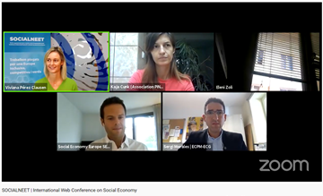 🔴🗞️ Excellent event @NeetSocial on #youthunemployment and #SocialEconomy solutions!  @KajaCunk explained that key skills missing in youth are: Critical thinking, Self initiative, Self criticism and Communication  Follow live for #SocEnt solutions   👉 https://t.co/wlr2YlbFRB https://t.co/MEeMM68t7j