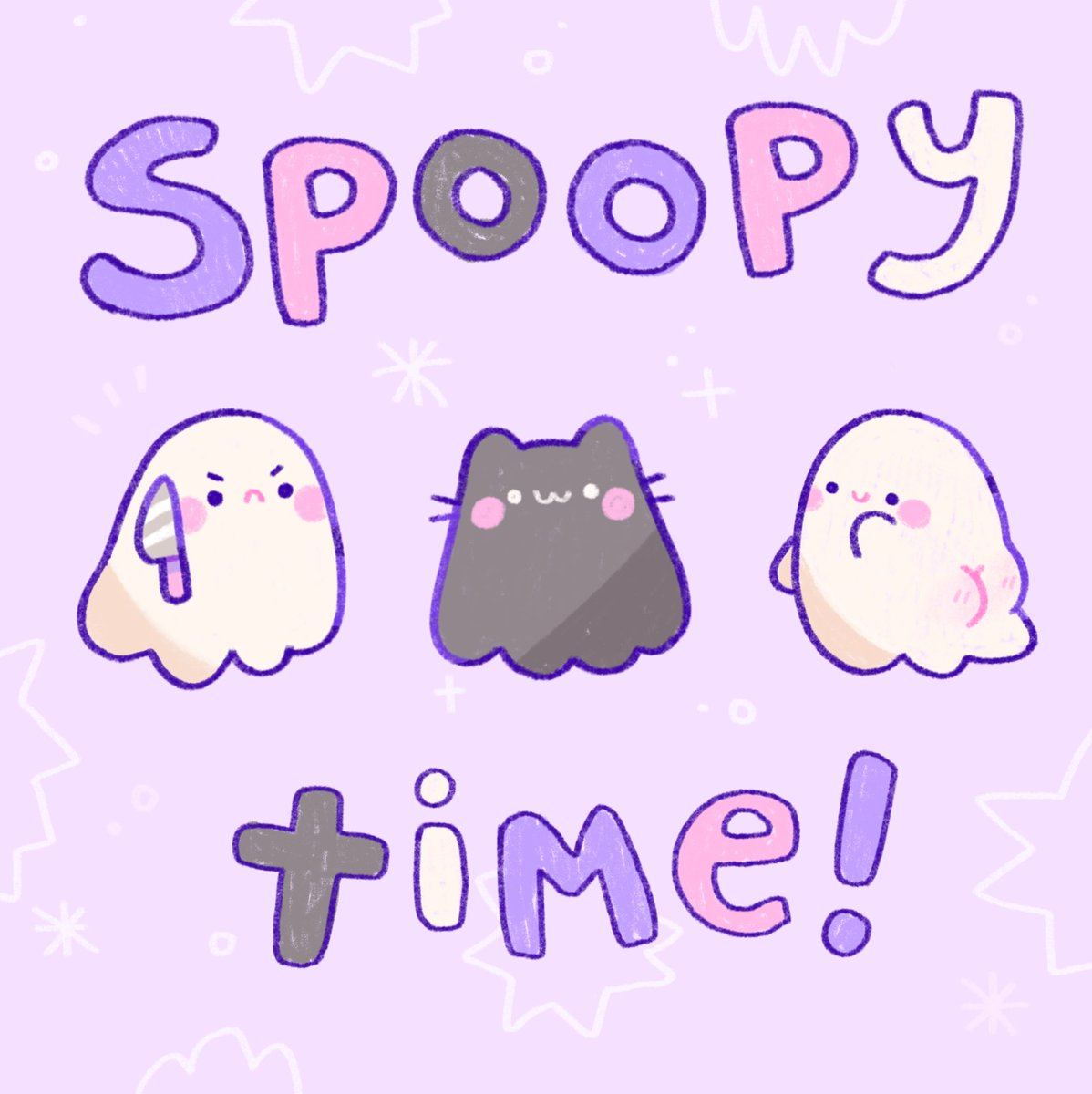 Little ghosties are ready!! Which one is you and your friends? 👻😈🖤 https://t.co/XNOTZ3rzoc