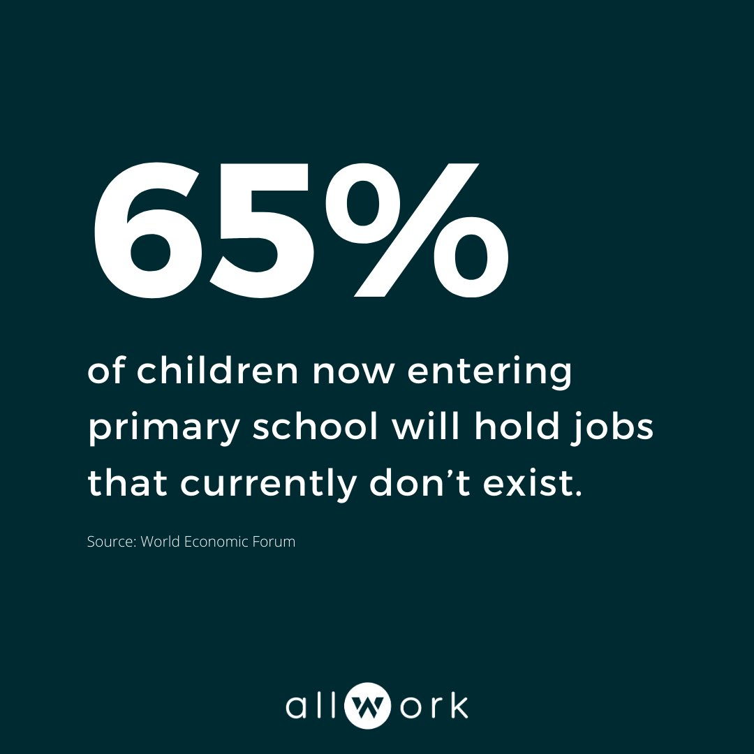 What are some future job titles you think we'll start seeing soon? 👇 Comment below!  #jobsofthefuture #futureofwork #jobs #workforce #employees https://t.co/vuyLFVpgOJ