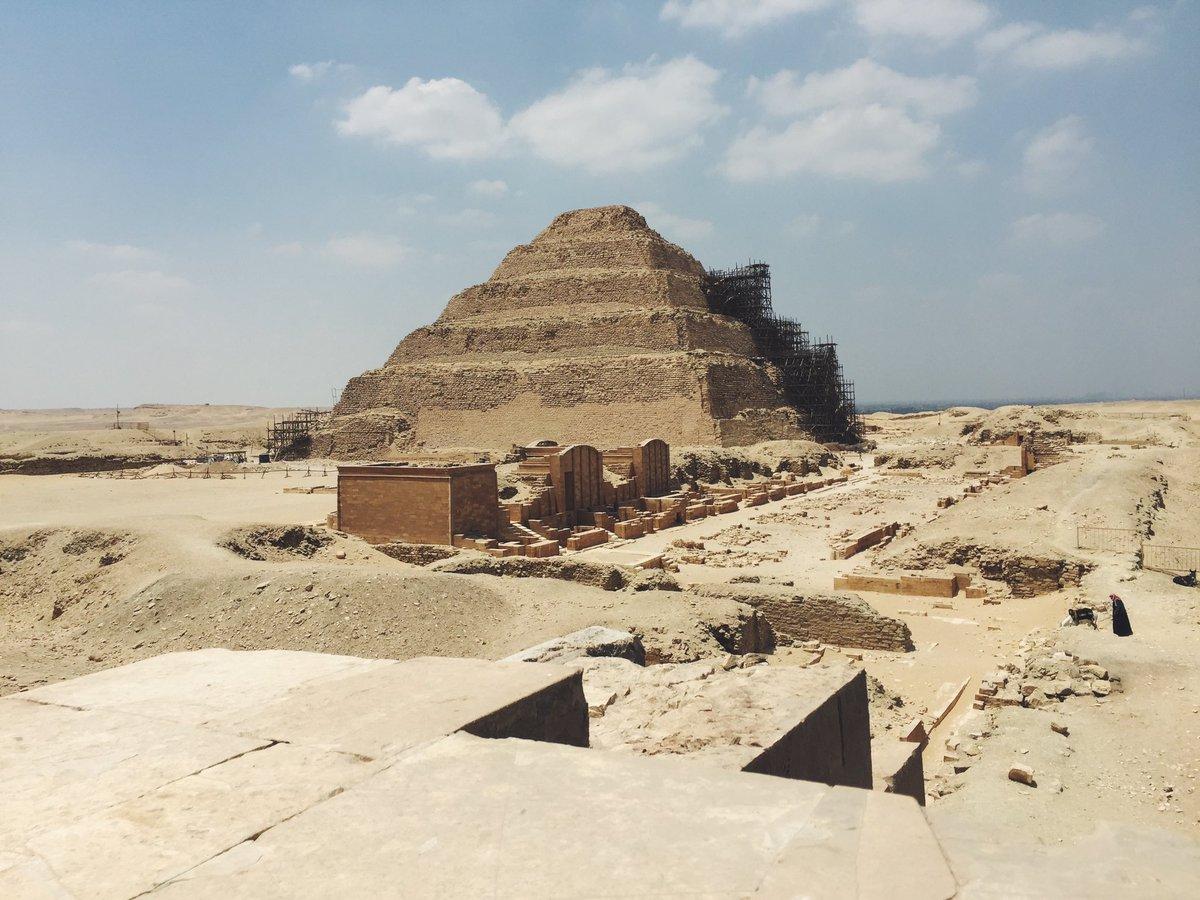 Memories from a few years ago #Egypt #Saqqara #FlashbackFriday https://t.co/El5JT8iFVc