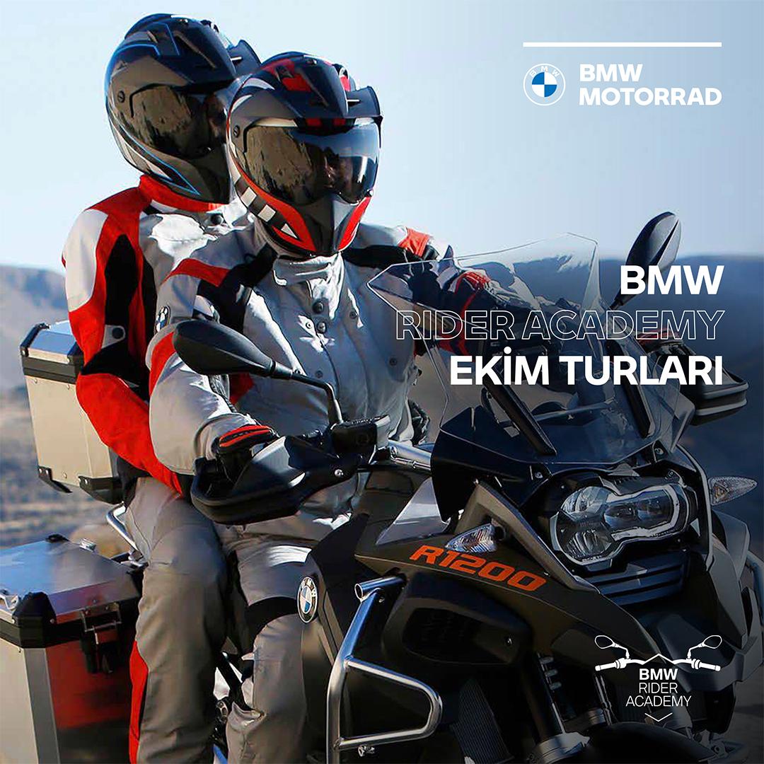 BMW Rider Academy Ekim'de de turlarına devam ediyor. Eşsiz doğası, muhteşem manzaralara ve virajlara sahip motosiklet rotaları, mavi bayraklı plajları, antik çağ kentleri, butik otelleri ve enfes lezzetleri ile unutulmayacak bir Akdeniz Turu sizleri bekliyor. #BMWMotorradTürkiye https://t.co/CNN4qjOUYu
