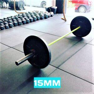 Fitness Vloer Crossift Tegels | Rubber op Roll | FlooringFitness  #flooringdesign #gym #fitness #bodybuilding #training #healthy #personaltrainer #crossfit #yoga #powerlifting #flooring #interiordesign #flooringideas #architecture #vinylflooring https://t.co/HCdQlL1G2a https://t.co/elVuokBlJJ