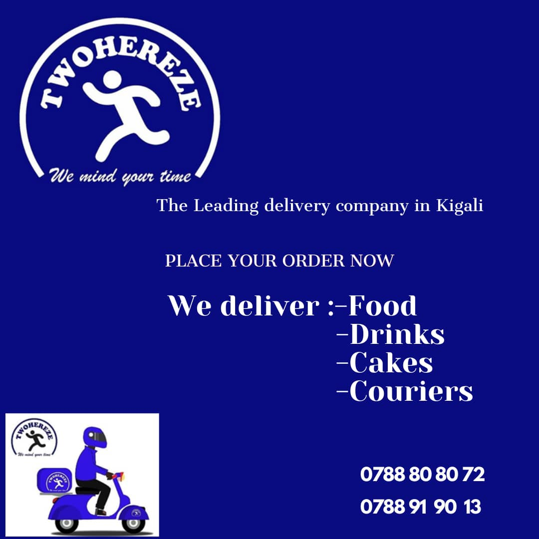 The fastest and reliable delivery company in Kigali. Order with us and get your in 30 minutes.  #RwOT #Delivery #Food ,#drinks #grocery #TIME https://t.co/5EzN7IxY1L